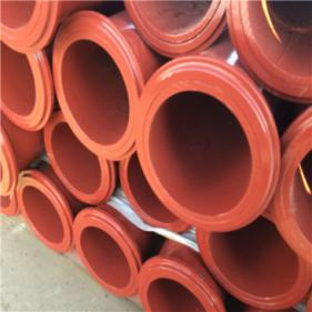 Putzmeister Schwing High Quality More Wear-resisting ST52 Thickness 4.5mm Concrete Pump Boom Pipe Line with 148MM SK Gr15 Collor Life Up to 30,000m3