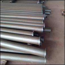 Putzmeister Thickness 7.1mm Through Heat Treatment Concrete Pump Delivery Pipe with 175mm ZX Flange Life Up to 50000m3