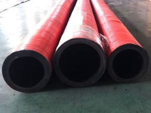 High Quality Most Popular 3 Inch 6 Layers Fabric-Reinforced Concrete Pump Rubber Hose Pipe with 85Bar Life 10000m3