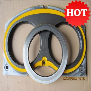 Cifa Duro22 Carbon DN200 DN230 Concrete Pump Wear Plate and Cutting Ring Life 14,000m3-16,000m3